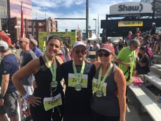 Edmonton, Alberta 1/2 Marathon