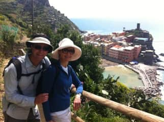 Walking the Cinque Terre in Italy