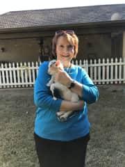 Newborn baby goat!