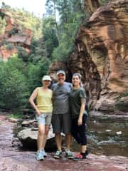 Summer of 2018. Hiking with my parents in Sedona, AZ.