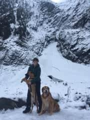 A quick Christmas hike!