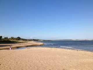 Woodstown beach.