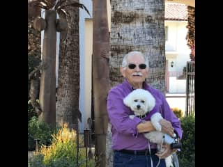 Jerry, Annie and I in Palm Springs