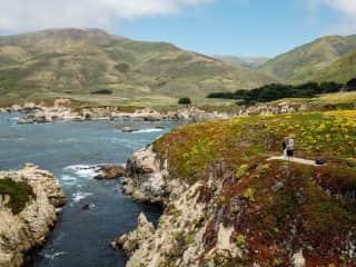 Hiking the coastline   Garrapata State Park - Monterey, CA