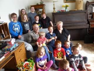Ken, Karen & Grandchildren