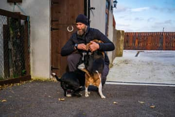 Whinnie and Bob - Trim Ireland
