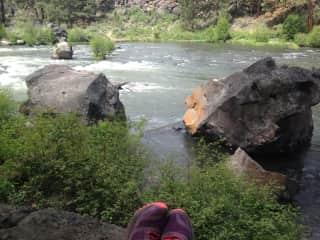 Deschutes River nearby