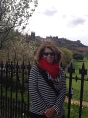 Me in iconic  Edinburgh