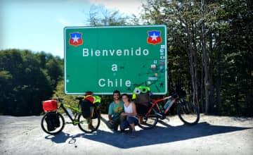 Crossing over the Cordillera de los andes