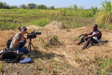 My work entails global health research and film making in developing countries