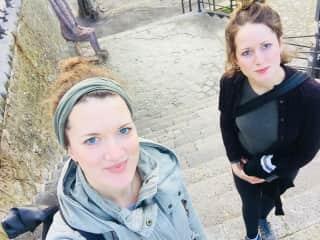 Hanna and Julia