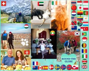 We have been very blessed with many opportunities to experiencing life in several countries