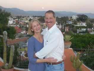 Us in Oaxaca