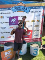 After the Ventura Marathon. I love running! Your active pet will be in great hands with me :)