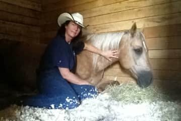 with Boggie my first horse