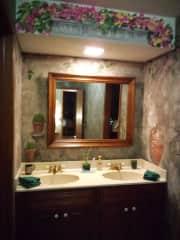 Your bathroom area