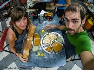 Eating in Kuala Lumpur, we love food too!
