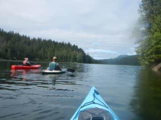 Kayaking in Thorne Bay Alaska