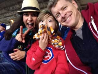 We are Cubs fans...please don't hold that against us!