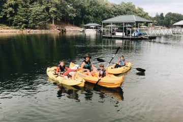 Caring for a pup who loves to kayak! {South Carolina}