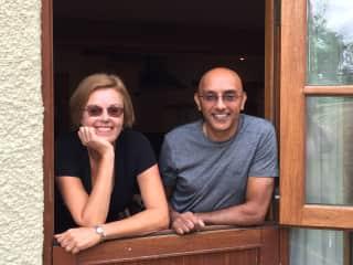 Sue and Praj