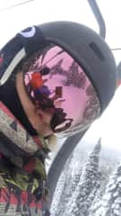 Me snowboarding at Squaw Valley, CA.