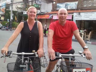 Sharon and Alistair in Chiang Mai