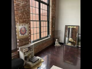 Bright and beautiful Floor to ceiling industrial windows