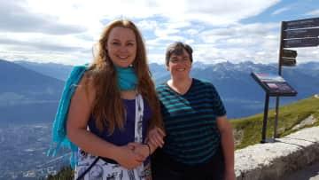 Innsbruck, Austria for our 15th anniversary