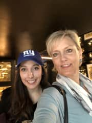 Rebecca and daughter Paige in New York