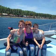 Diving with the family
