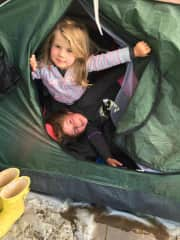 loove camping! even when it's freezing