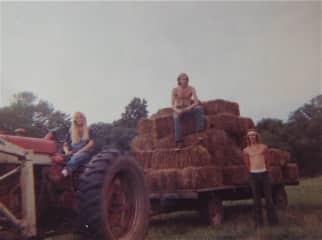 down on the Connecticut family farm (1973)