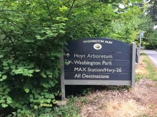 Arboretum, Washington Park, MAX