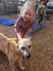 Josie the dog lover