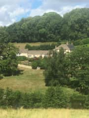 View from other side of our valley