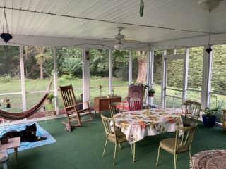 Bug-free porch