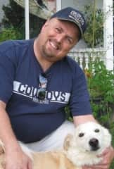 Me with my Rio before he passed away a few years back