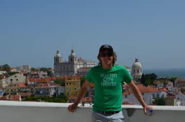 Jon in Lisbon, Portugal