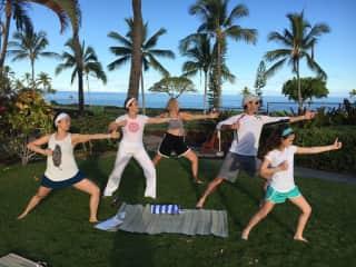 I give Yoga & meditation retreats on Kauai & around the world