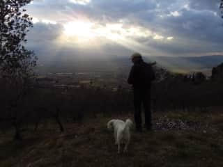 The Dapper Ugo of Trevi, Italy