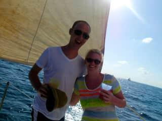 Sailing/snorkelling in Belize