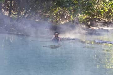 The Hot Springs!