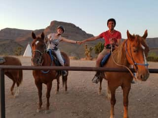 horse riding grand canyon...it was amazing =)