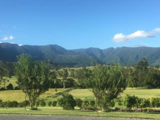 Border Ranges to the North