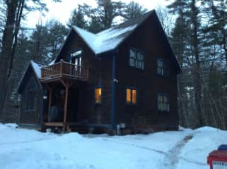 This is our home,i built, in1993, in vermont