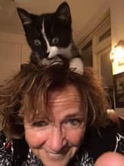 Tiny Tim, my last foster kitten