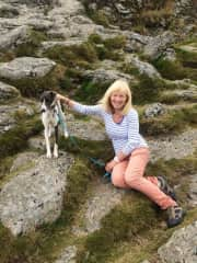 Sapphy with me on Dartmoor