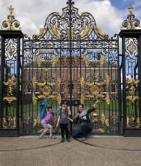 Kensington Palace after being awake for 30 hours :-)