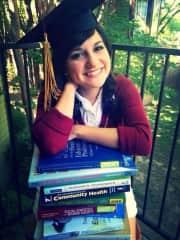 Graduation pic :) Master in Health Education